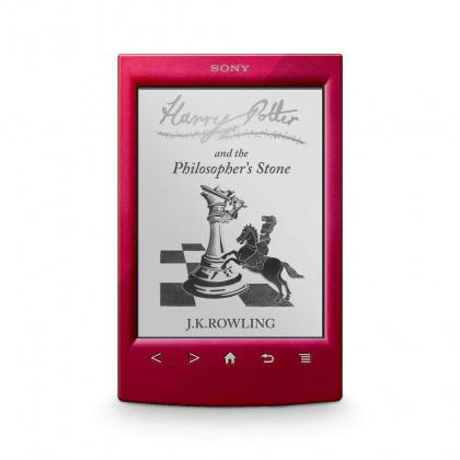 "Liseuse eBook Sony Reader PRS-T2 Rouge Liseuse eBook tactile de 6"" avec Wi-Fi"