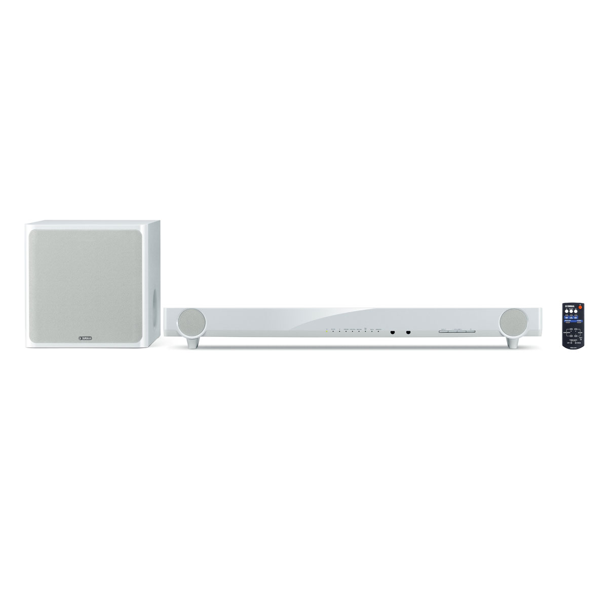 Yamaha yas 201 blanc ensemble home cin ma yamaha sur ldlc - Home cinema 2 1 blanc ...