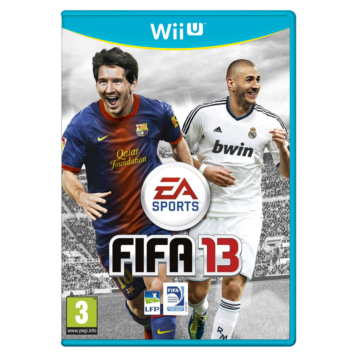 fifa 13 wii u jeux wii u electronic arts sur ldlc. Black Bedroom Furniture Sets. Home Design Ideas