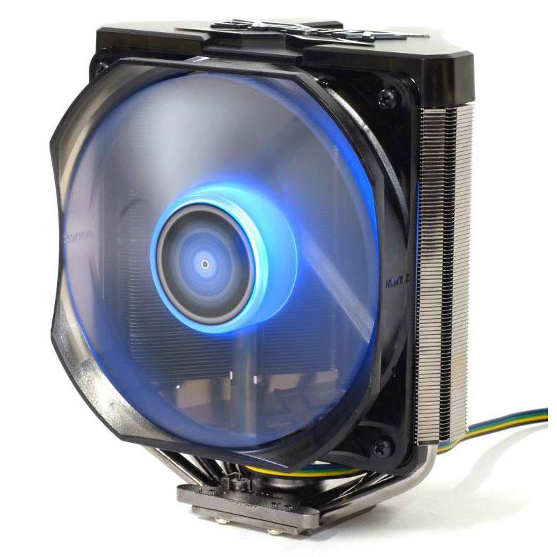 Ventilateur processeur Zalman CNPS11X Extreme Ventilateur pour processeur (pour socket Intel 775 / 1150/1151/1155 / 1156 / 1366 / 2011 et AMD FM1 / AM2 / AM2+ / AM3 / AM3+)