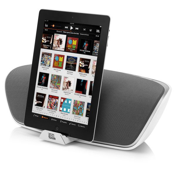 Jbl on beat venue blanc onbeat venue blanc achat vente dock encei - Enceinte iphone ipad ...