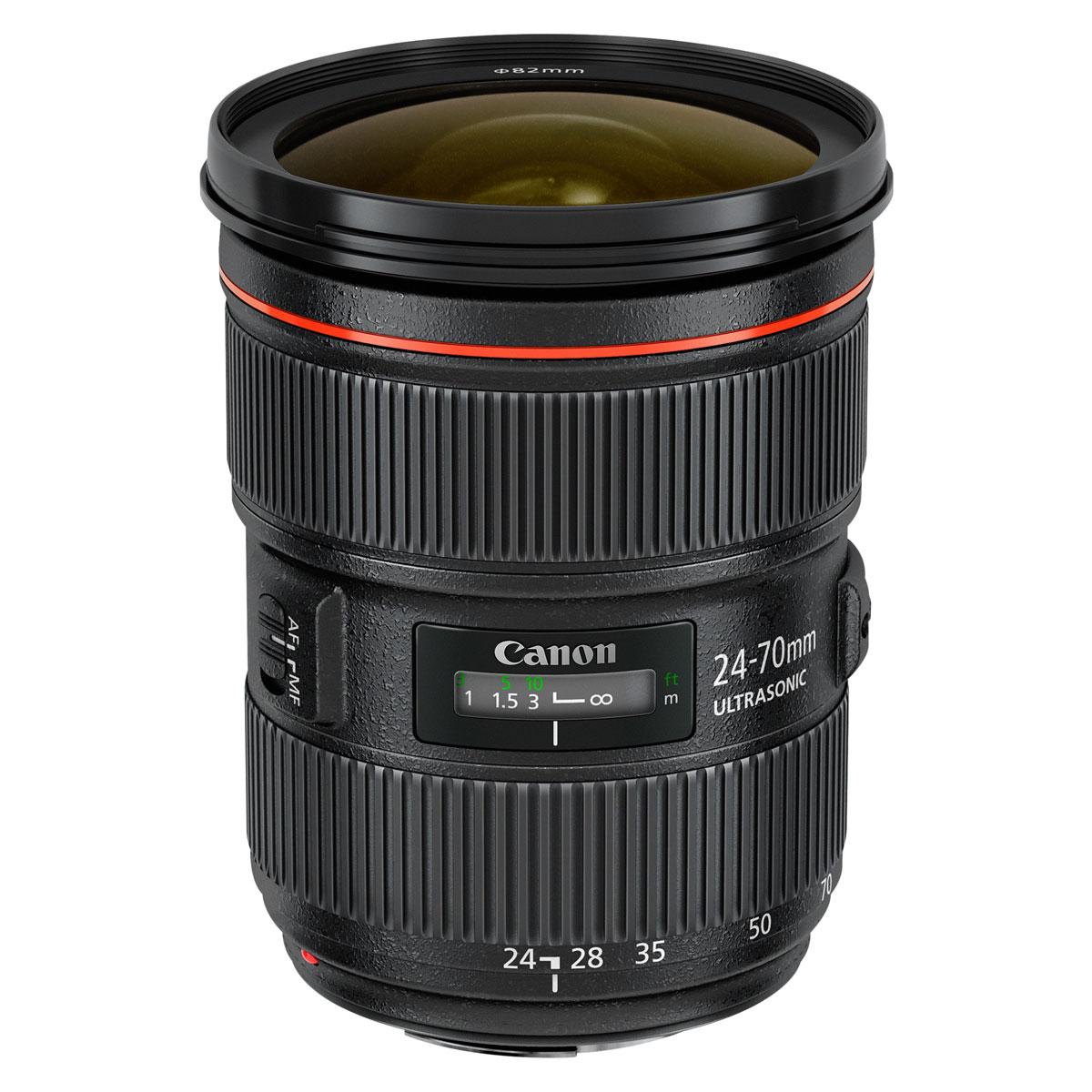 Objectif appareil photo Canon EF 24-70mm f/2.8L II USM Zoom standard