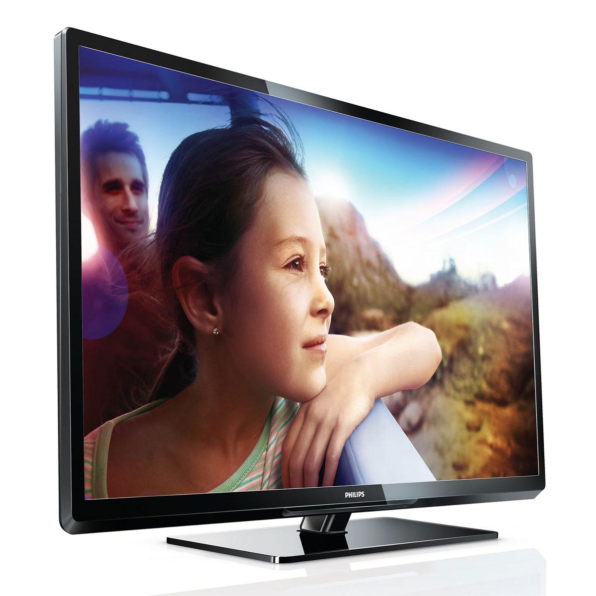 """TV Philips 32PFL3107H Téléviseur LED 32"""" (81 cm) 16/9 - 1366 x 768 pixels - 100Hz - TNT & Câble HD - DLNA - HDTV"""