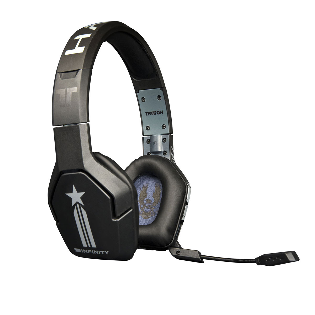 tritton trigger halo 4 xbox 360 micro casque gamer tritton sur ldlc. Black Bedroom Furniture Sets. Home Design Ideas