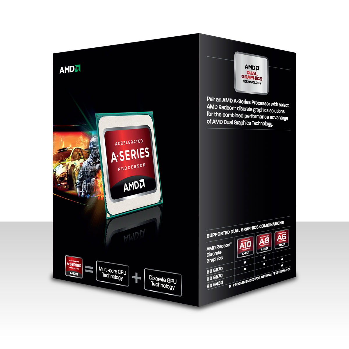 amd a10 5800k 3 8 ghz black edition ad580kwohjbox achat vente processeur sur. Black Bedroom Furniture Sets. Home Design Ideas
