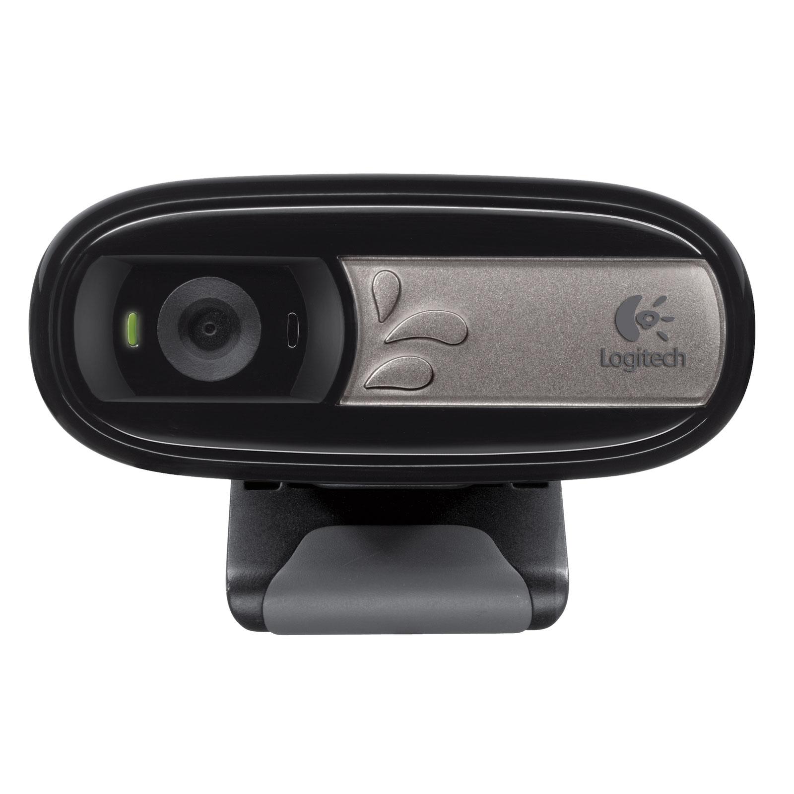 Webcam Logitech C170 Webcam avec microphone intégré et compatible Facebook/Skype/MSN