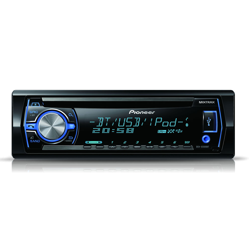 pioneer deh x5500bt autoradio pioneer sur ldlc. Black Bedroom Furniture Sets. Home Design Ideas