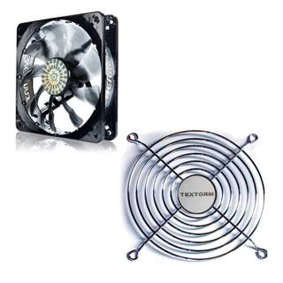 Ventilateur boîtier Enermax T.B.SILENCE UCTB12 + Grille de ventilateur 120mm Ventilateur de boîtier 120 mm avec pales détachables + Grille de ventilateur 120mm