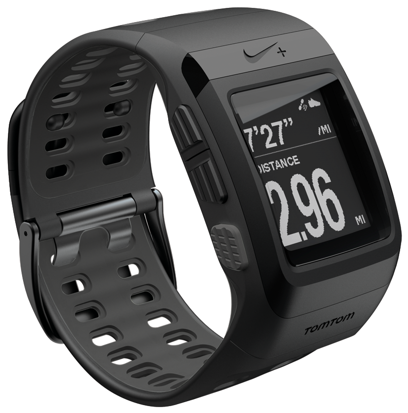 tomtom montre nike sportwatch noir gris montre running tomtom sur ldlc. Black Bedroom Furniture Sets. Home Design Ideas