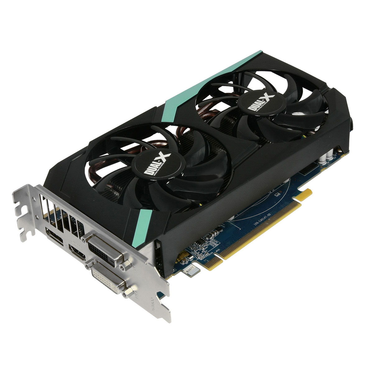 Carte graphique Sapphire Radeon HD 7870 GHz Edition 2 Go 2 Go HDMI/Dual DVI/DisplayPort - PCI Express (AMD Radeon HD 7870)