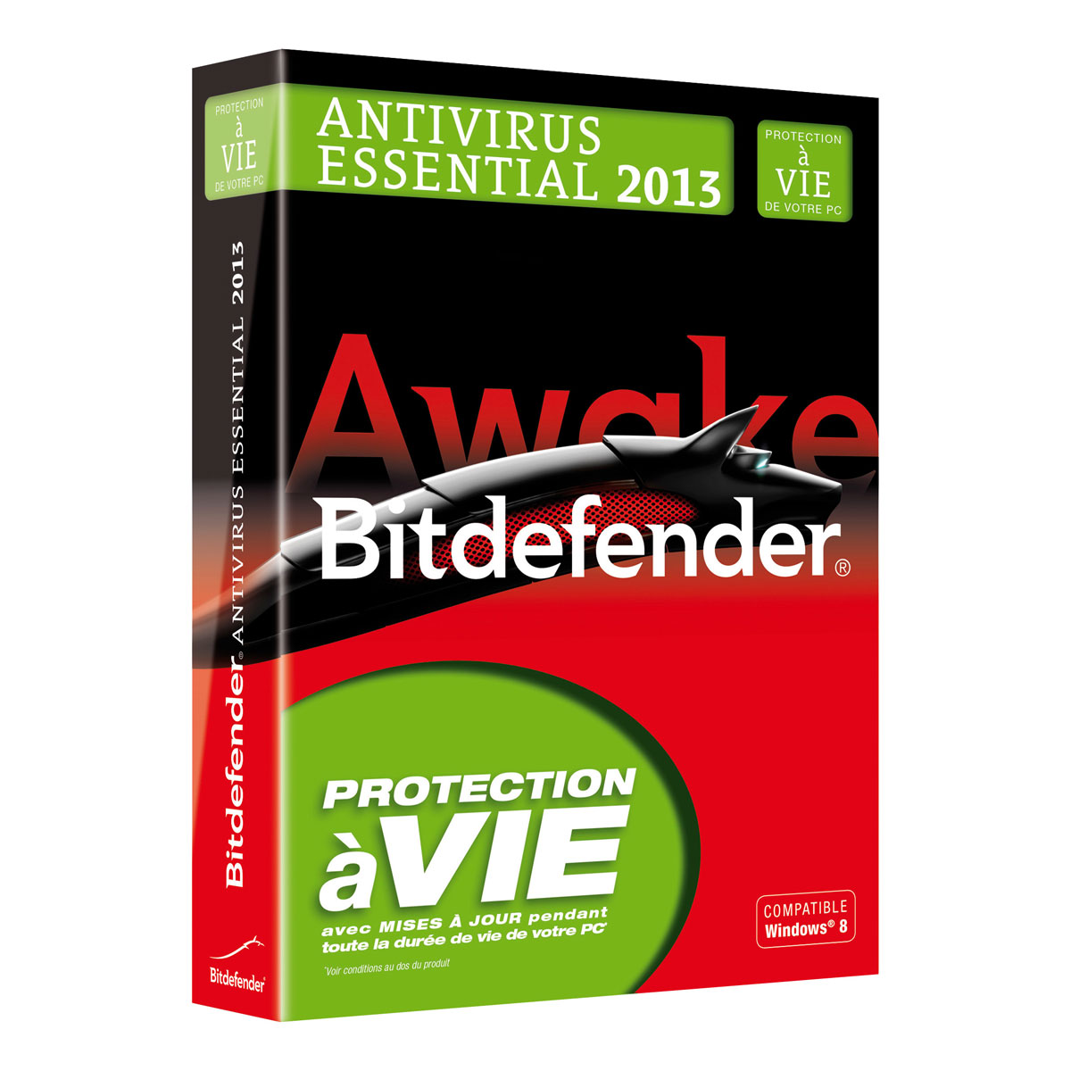 bitdefender antivirus essential 2013 licence vie 1 poste logiciel antivirus bitdefender. Black Bedroom Furniture Sets. Home Design Ideas
