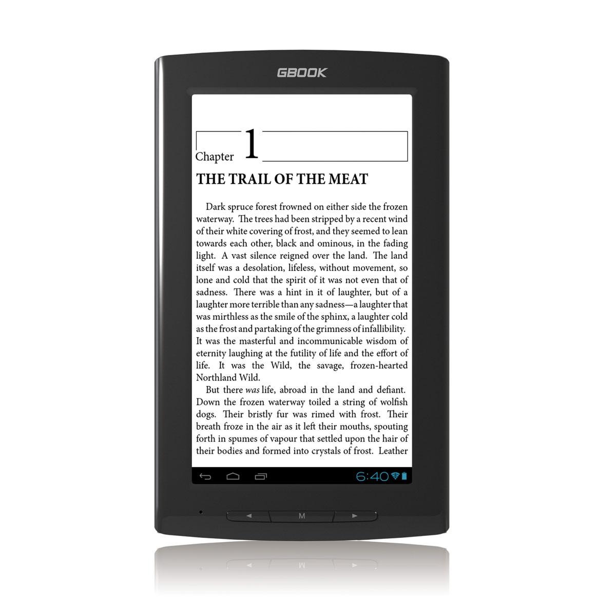 "Liseuse eBook Arnova GBOOK - 4 Go Liseuse eBook tactile de 7"" sous Android 4.0"