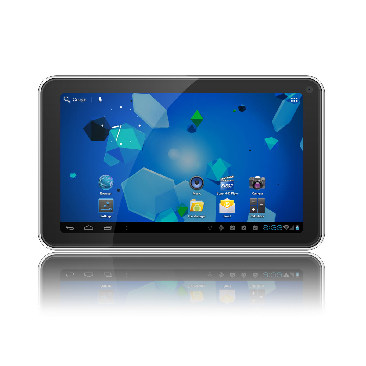 "Tablette tactile MPMAN MP700 8 Go Tablette Internet - ARM Cortex-A8 1 GHz 512 Mo 8 Go 7"" LCD tactile Wi-Fi N Webcam Android 4.0"