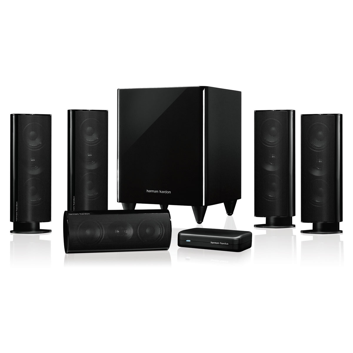 harman kardon hkts 35 noir enceintes hifi harman kardon. Black Bedroom Furniture Sets. Home Design Ideas