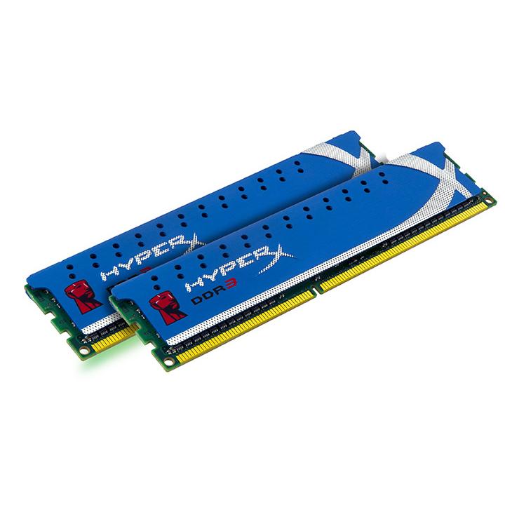 Mémoire PC Kingston HyperX Genesis 8 Go (2x 4Go) DDR3 1600 MHz Kingston HyperX genesis 8 Go (kit 2x 4 Go) DDR3-SDRAM PC3-12800 CL9 - KHX1600C9D3K2/8G (garantie 10 ans par Kingston)