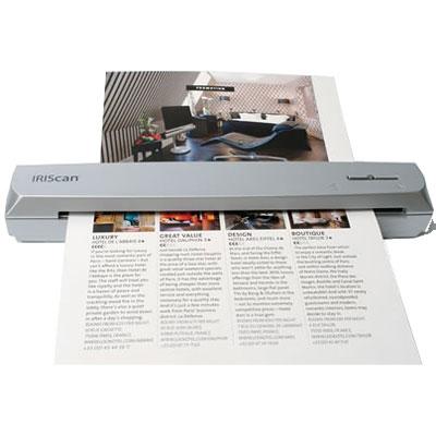 Scanner I.R.I.S IRIScan Express 3 Scanner à défilement avec Readiris Pro 12