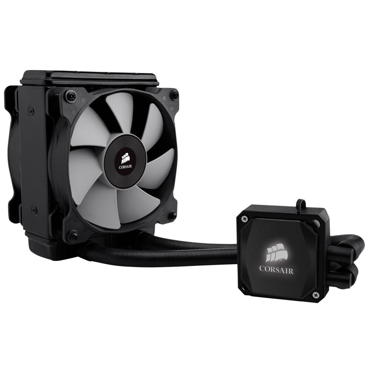 Ventilateur processeur Corsair Hydro Series H80i Kit de refroidissement pour processeur