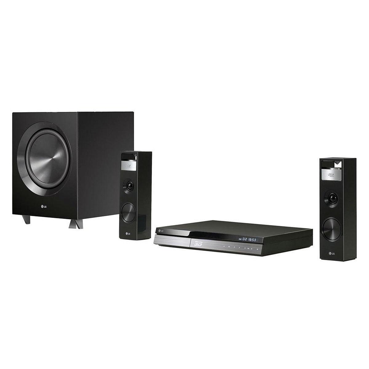 Ensemble home cinéma LG BH9220C Ensemble Home Cinéma 2.1 Blu-ray 3D avec sortie HDMI 1080p Port USB