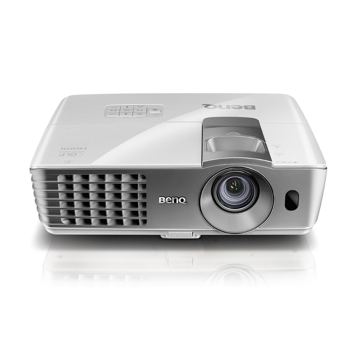 Vidéoprojecteur BenQ W1070 Vidéoprojecteur DLP Full HD 3D Ready 1080p 2000 Lumens - Lens Shift