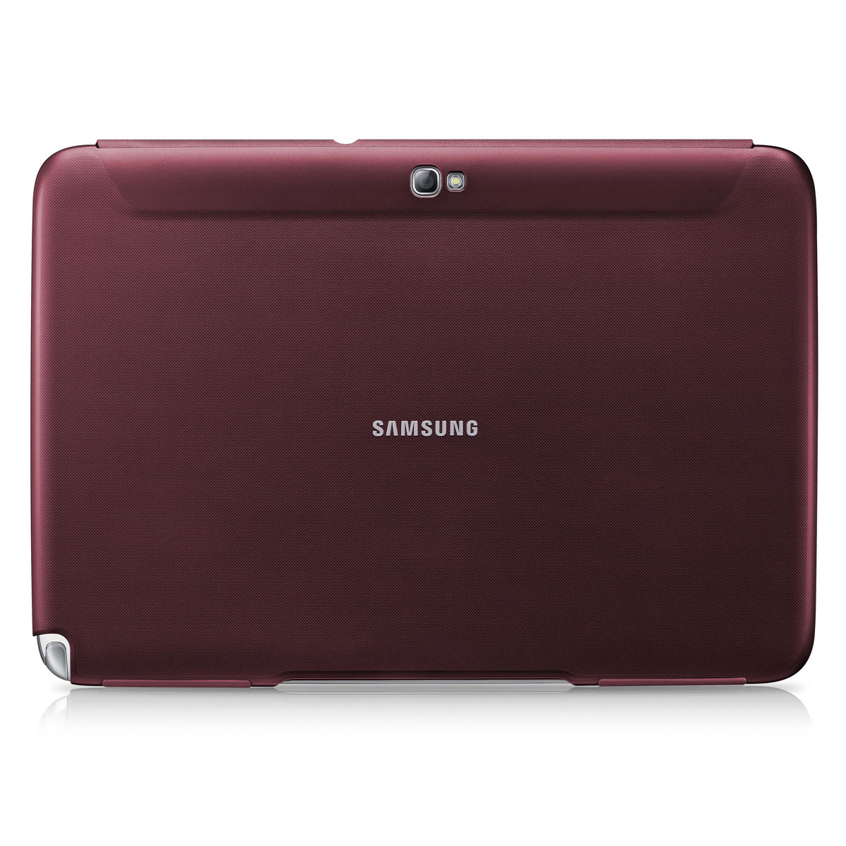 samsung book cover rouge pour samsung galaxy tab 2 10 1. Black Bedroom Furniture Sets. Home Design Ideas
