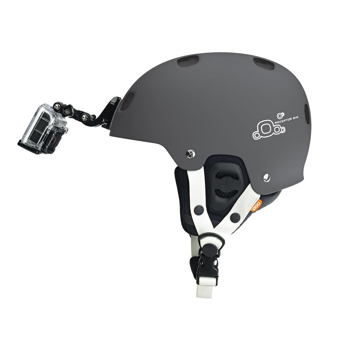gopro fixation frontale pour casque accessoires cam ra sportive gopro sur ldlc. Black Bedroom Furniture Sets. Home Design Ideas