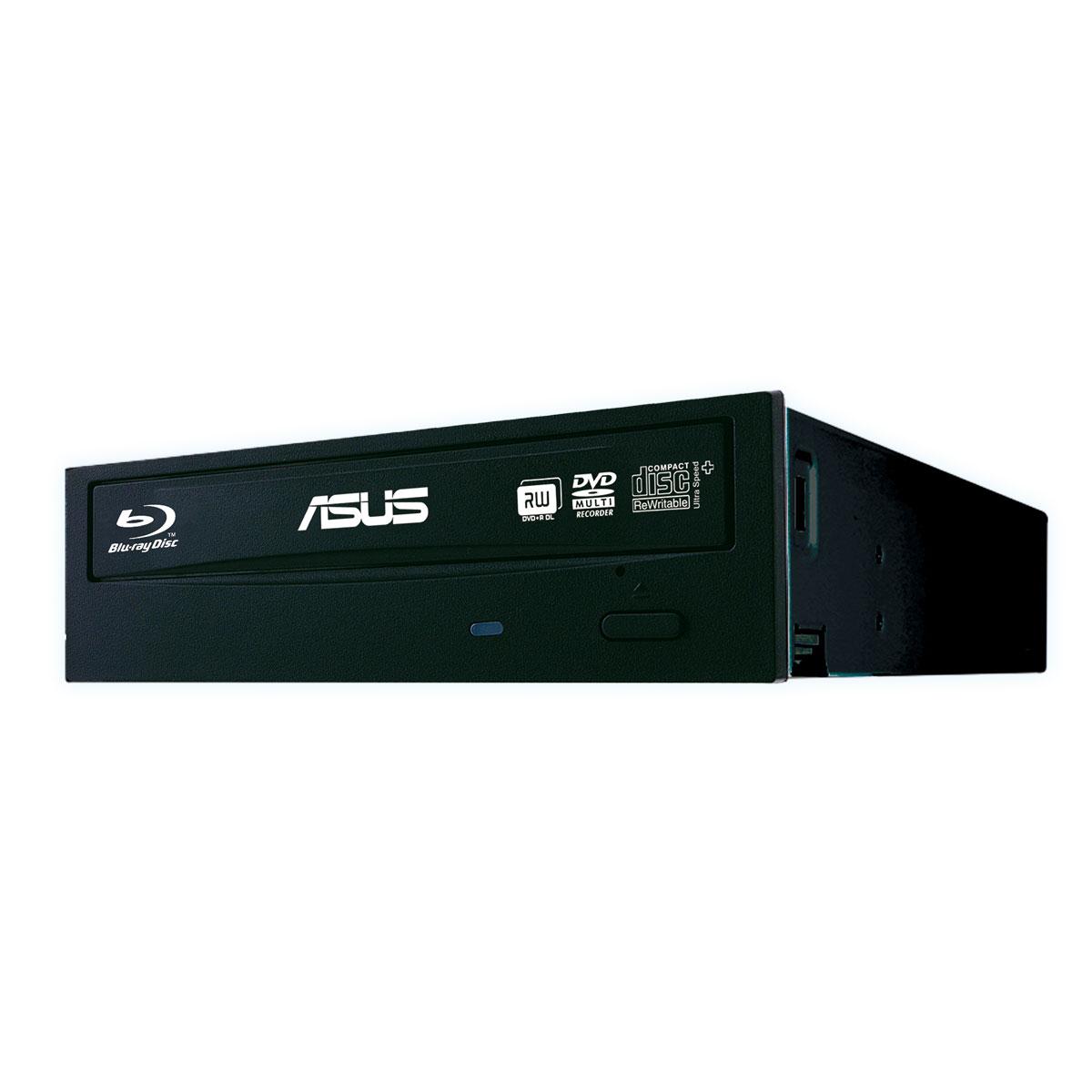 Lecteur graveur ASUS BW-16D1HT Graveur Blu-ray, M-Disc et DVD - BD-R/RE 16/2x DL(BD-R/RE) 12/2x DVD(+/-)RW/RAM 16/16/8/5 DL(+/-) 8/8x CD-RW 48/24x Serial ATA