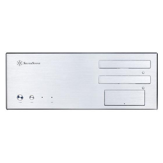 Boîtier PC SilverStone Lascala LC17 (argent) Boîtier Desktop HTPC