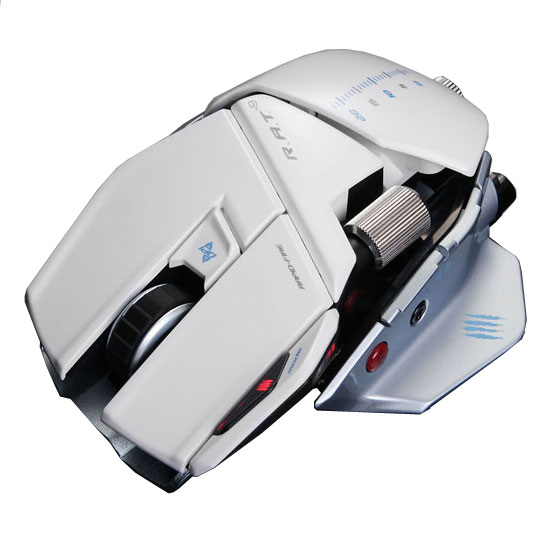 mad catz r a t 9 gloss white souris pc mad catz sur ldlc. Black Bedroom Furniture Sets. Home Design Ideas