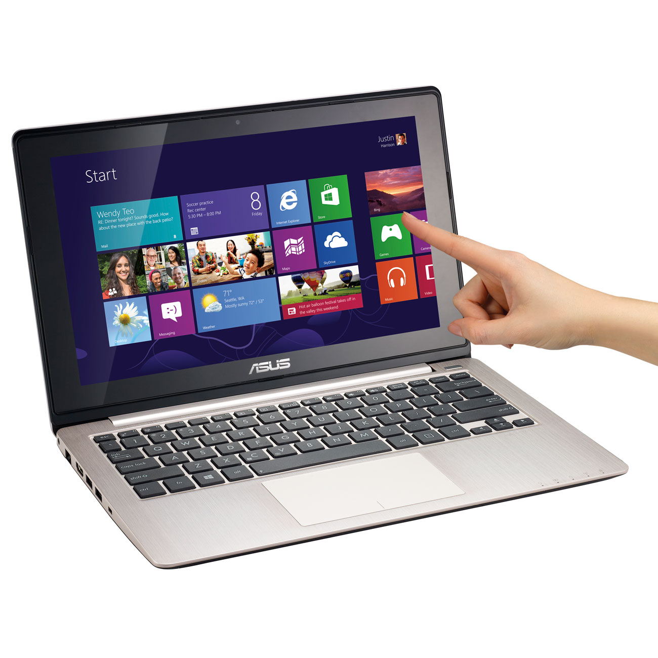 asus vivobook s200e ct162h pc portable asus sur ldlc. Black Bedroom Furniture Sets. Home Design Ideas