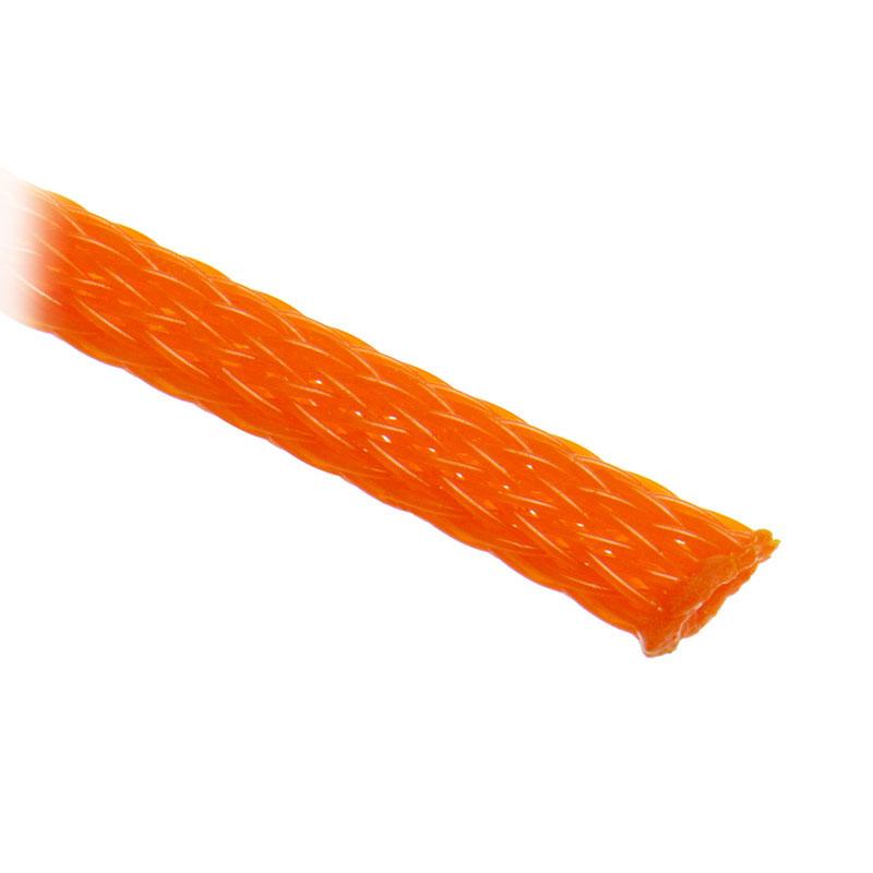 Accessoires Tuning PC Gaine tressée extensible orange diamètre 9 mm (5 mètres) Gaine tressée extensible orange diamètre 9 mm (5 mètres)