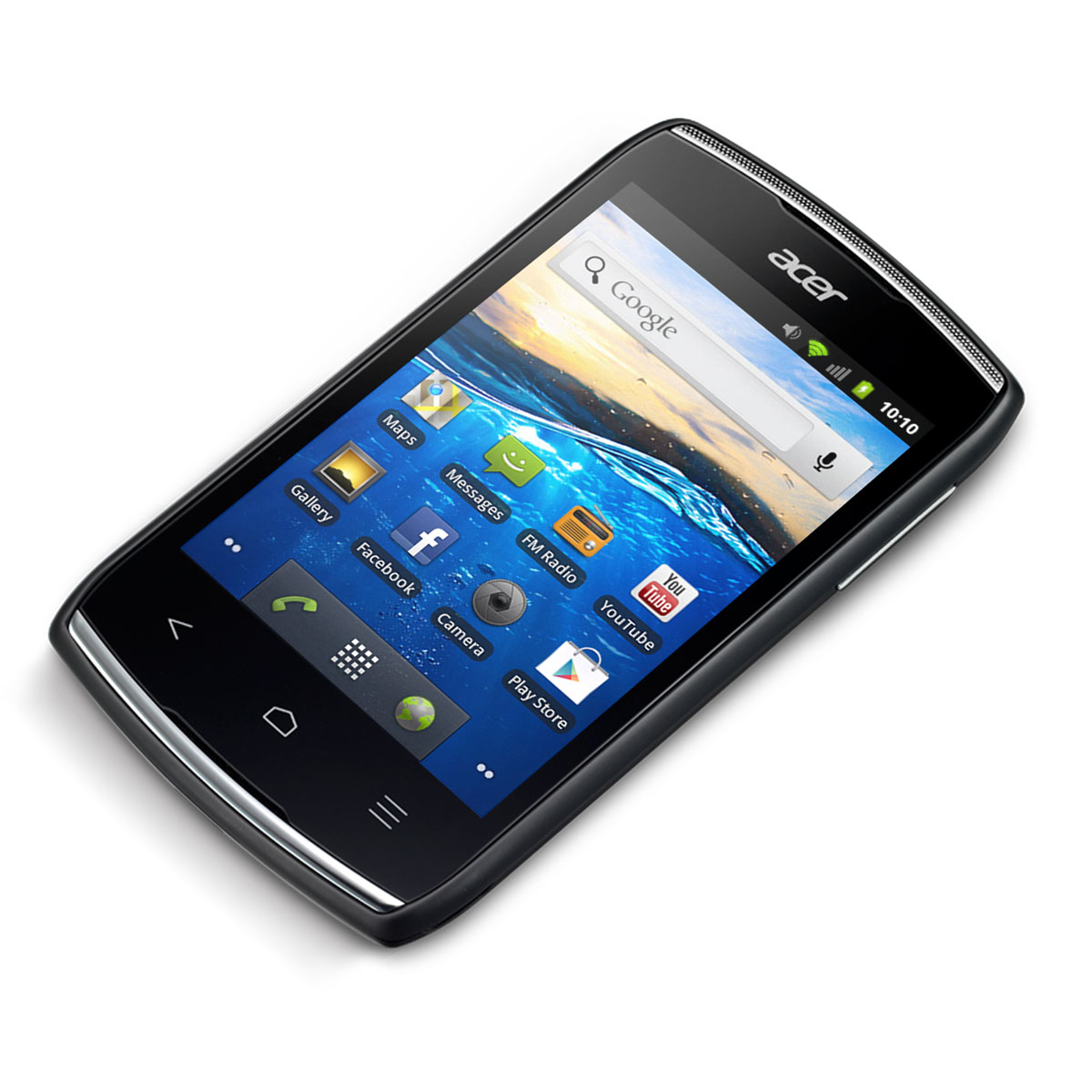 acer liquid z110 duo gentle black hm achat vente mobile smartphone sur. Black Bedroom Furniture Sets. Home Design Ideas