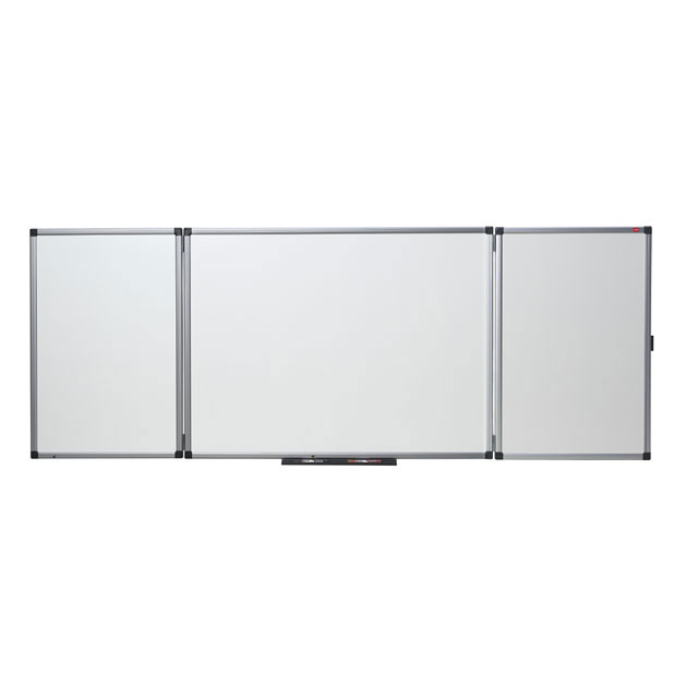 planorga tableau blanc tryptique 90 x 240 cm tableau blanc et paperboard planorga sur ldlc. Black Bedroom Furniture Sets. Home Design Ideas
