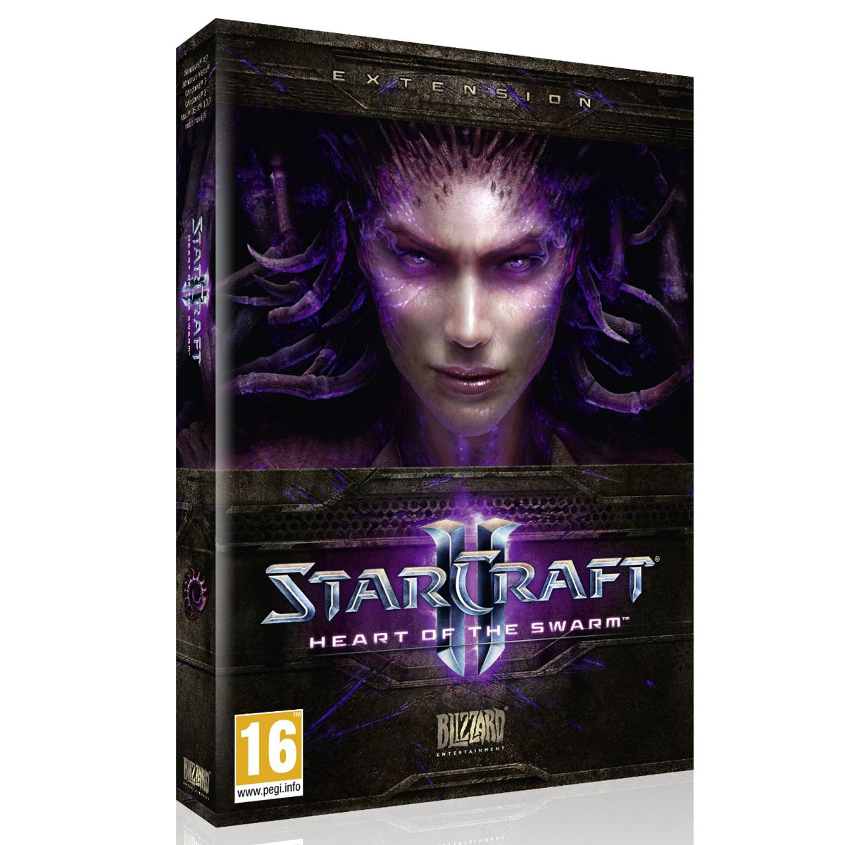 Jeux PC StarCraft II : Heart of the Swarm (PC/MAC) Extension pour StarCraft II