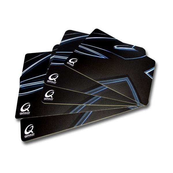 qpad ct large coloris noir tapis de souris qpad sur ldlc