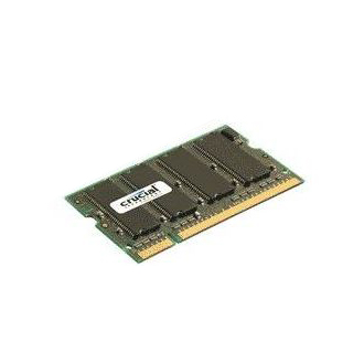 Mémoire PC portable Crucial SO-DIMM 2 Go DDR2 667 MHz CL5 RAM SO-DIMM DDR2 PC5300 - CT25664AC667 (garantie 10 ans par Crucial)