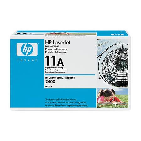 Toner imprimante HP Q6511A Toner Noir (6 000 pages à 5%)