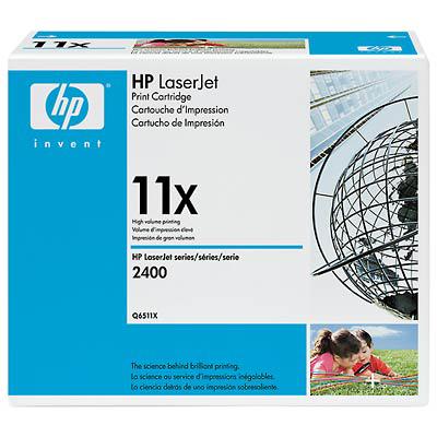 Toner imprimante HP Q6511X Toner Noir (12 000 pages à 5%)