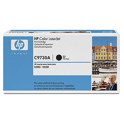 Toner imprimante HP C9730A Toner Noir