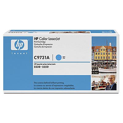 Toner imprimante HP C9731A Toner Cyan
