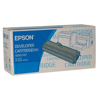 Toner imprimante Epson C13S050167 Toner Noir (3 000 pages à 5%)