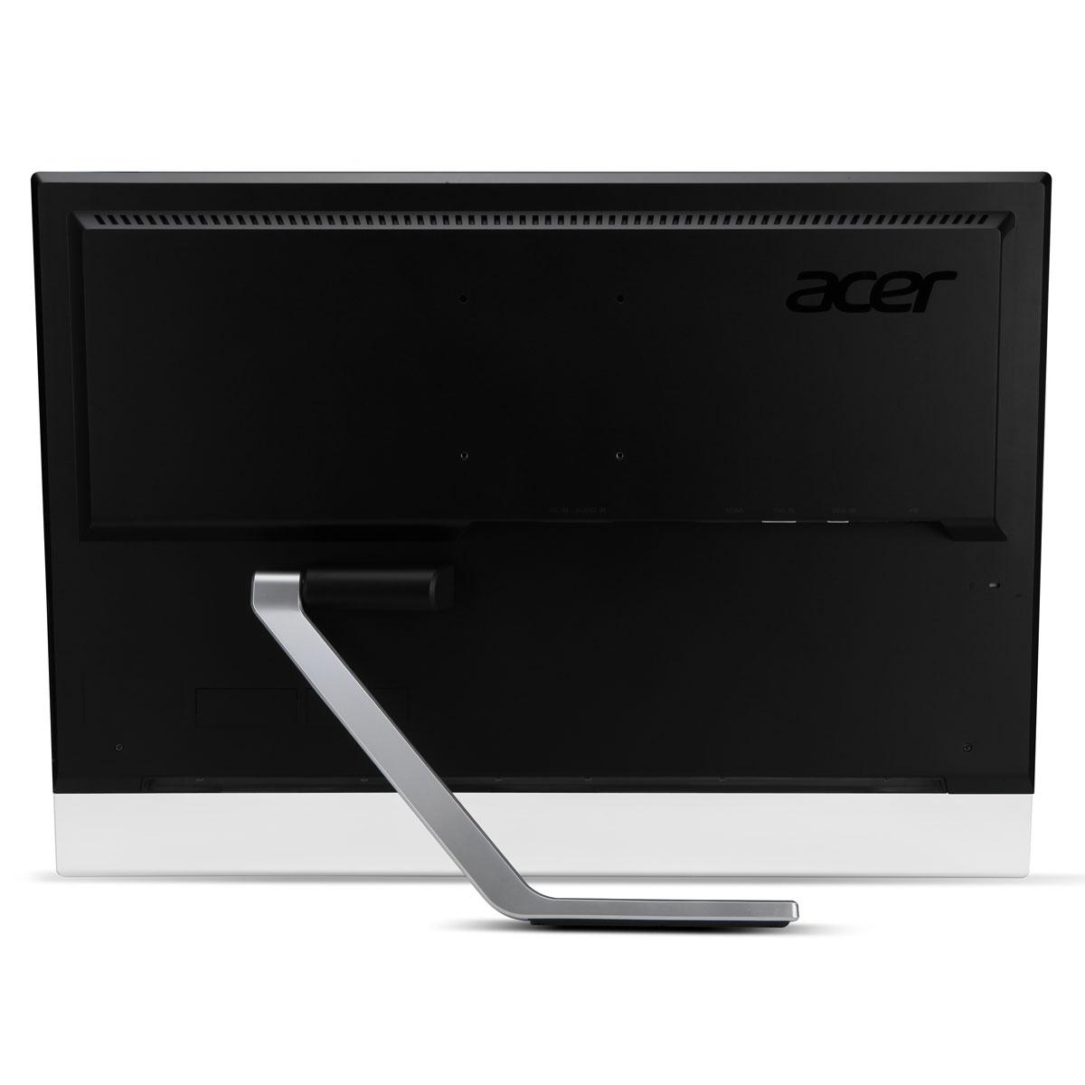 Acer 27 led tactile t272hlbmidz touch ecran pc acer for Ecran pc dalle mate