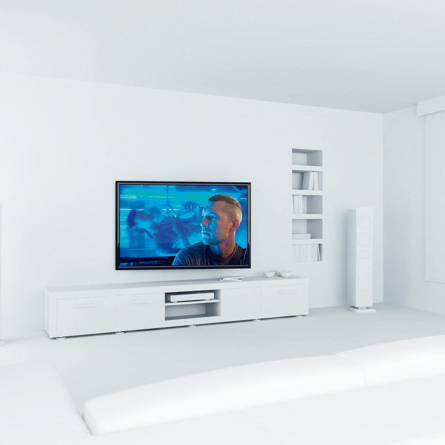 vogel 39 s thin rc 355 support mural tv vogel 39 s sur ldlc. Black Bedroom Furniture Sets. Home Design Ideas