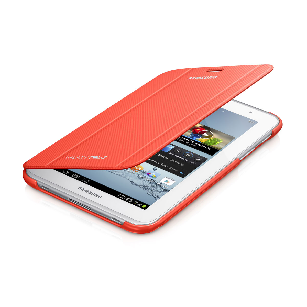 samsung book cover orange pour samsung galaxy tab 2 7 0 accessoires tablette samsung sur ldlc. Black Bedroom Furniture Sets. Home Design Ideas