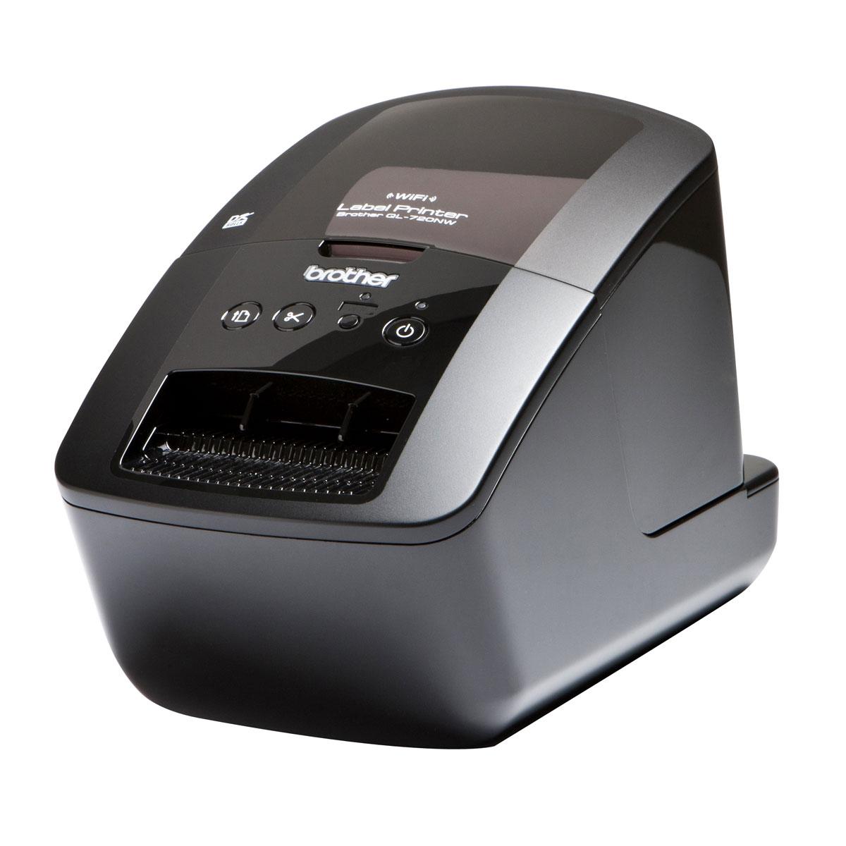 Imprimante thermique Brother QL-720NW Imprimante à étiquettes (Ethernet / USB / Wi-Fi)