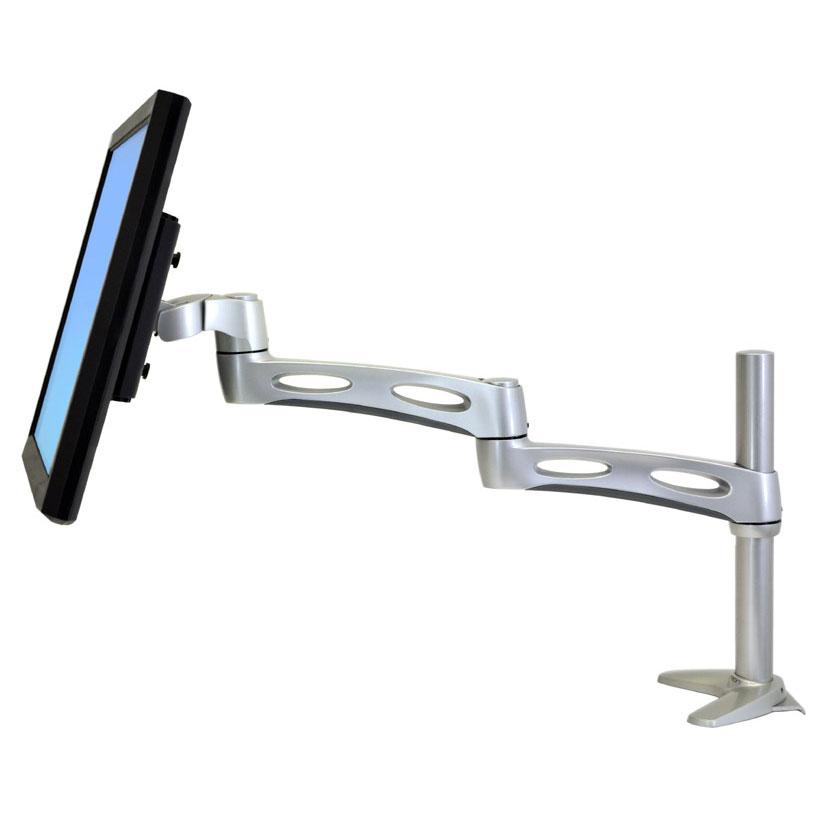 ergotron neo flex extend lcd arm bras pied ergotron. Black Bedroom Furniture Sets. Home Design Ideas