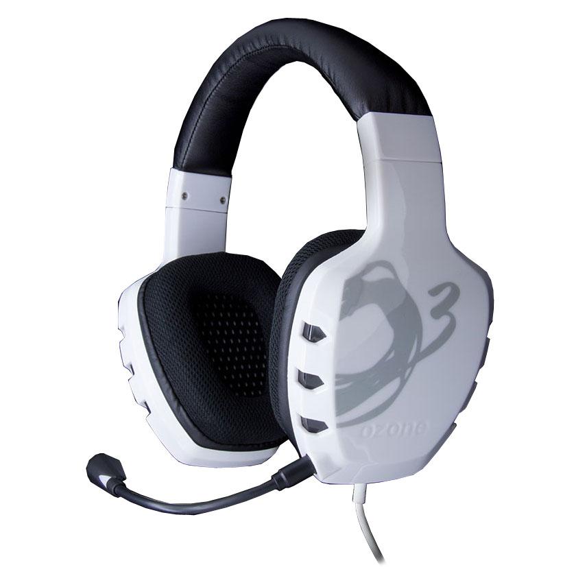 Micro-casque OZONE Rage ST Blanc Casque-micro pour gamer