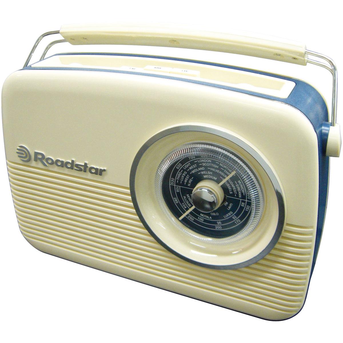 roadstar tra 1957 tra1957cr achat vente radio radio r veil sur. Black Bedroom Furniture Sets. Home Design Ideas