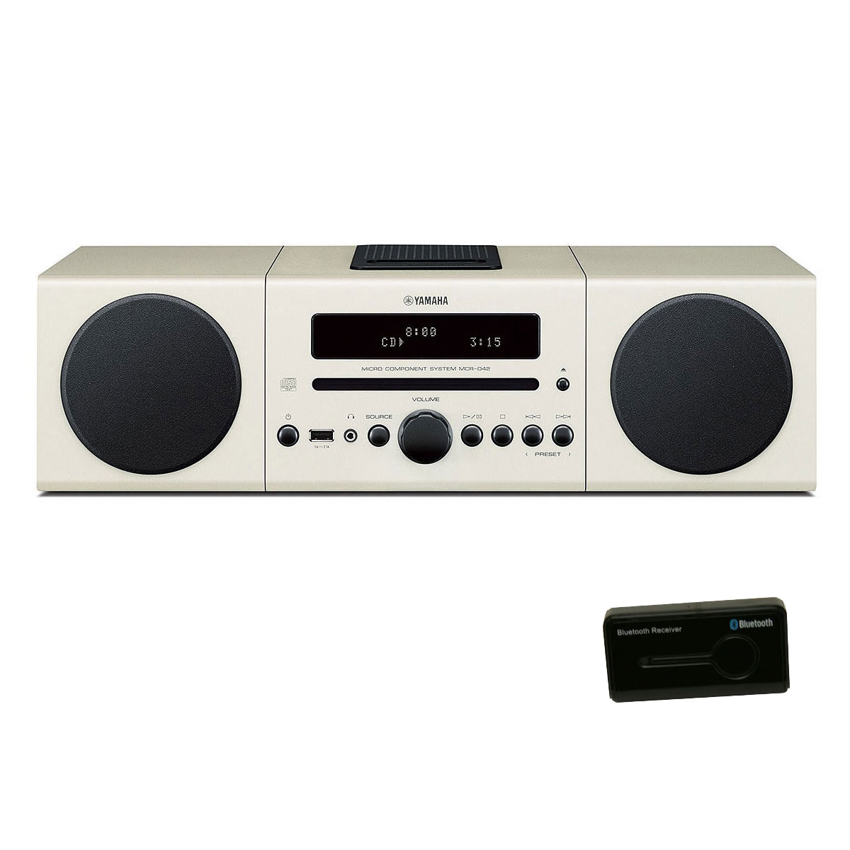 yamaha mcr 042 blanc neo sound r cepteur bluetooth cha ne hifi yamaha sur ldlc. Black Bedroom Furniture Sets. Home Design Ideas