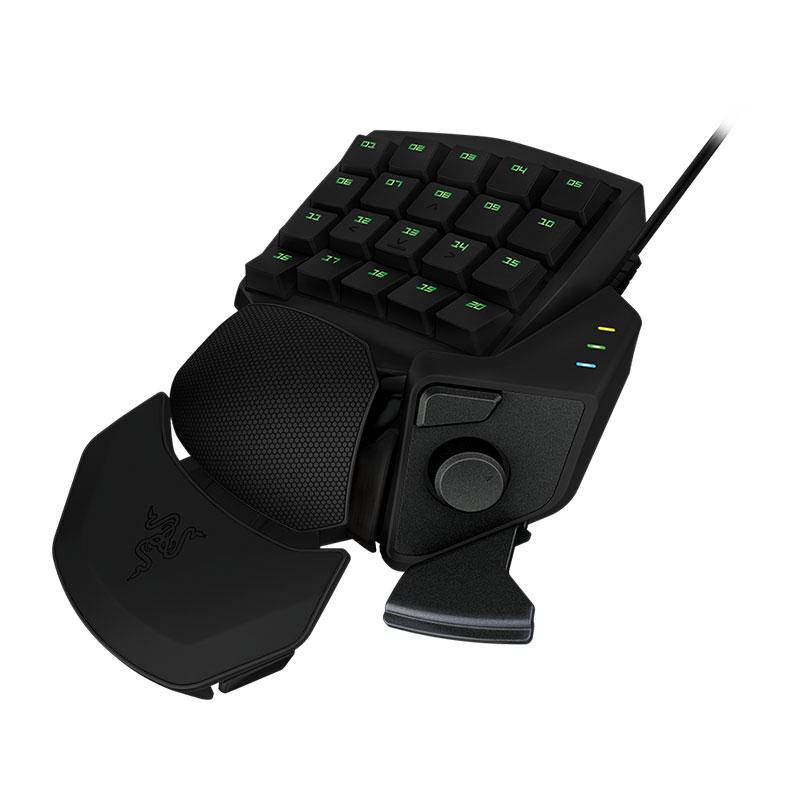 Clavier gamer Razer Orbweaver Pad programmable et modulable à touches mécaniques pour gamer