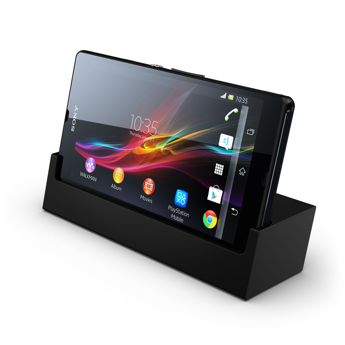 sony xperia z noir dock dk26 sony ericsson liveview micro display achat vente mobile. Black Bedroom Furniture Sets. Home Design Ideas